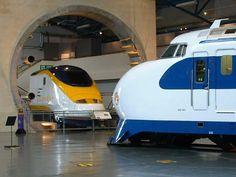 Eurostar and Bullet Train. National Railway Museum, York
