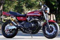 AC Sanctuary is a healing temple for 70s and 80s four-cylinder superbikes,their latest creation a custom Kawasaki Z1 aka RCM-242 is just priceless