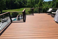 deck railings on pinterest - Google Search Synthetic Decking, Screened Porch Designs, Custom Decks, Deck Railings, Deck Design, California, Outdoor Decor, Google Search, Design Ideas