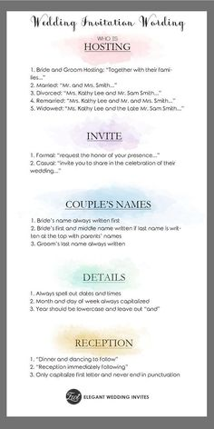 choosing the right wording for your invitation suite can be tricky but the process