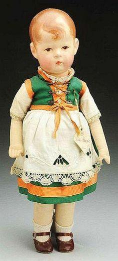 Kathe Kruse Doll VII.