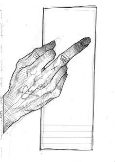 Anatomy Sketches, Anatomy Art, Art Drawings Sketches, Cool Drawings, Hand Drawing Reference, Art Reference Poses, Funky Art, Hand Sketch, Art Journal Inspiration