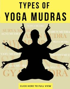 yoga mudra and their benefits..another good piece of information for yogis, especially for instructors