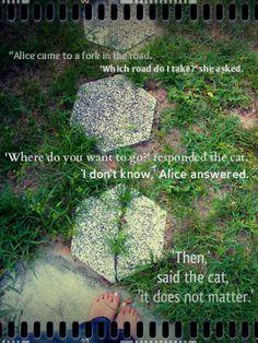 --alice in wonderland quote
