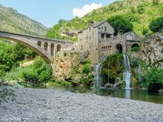 Road Trip, Provence, Les Cascades, French Countryside, Mansions, Architecture, House Styles, City, Places