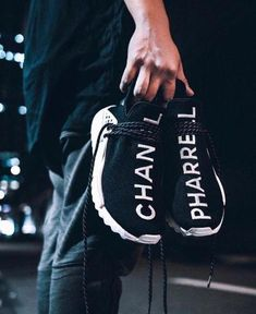 Adidas x Pharell Williams x Chanel #Sneakers