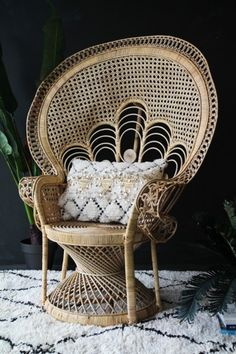 Classic Rattan Peacock Chair - View All - Furniture