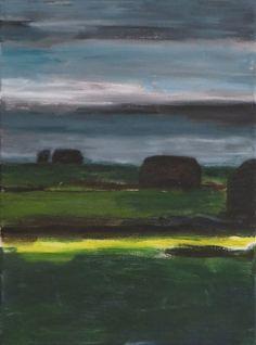 30x40 cm | oil on linen | 3 barnes (Schuren)  | www.lotjemeijknecht.nl | #groenehart #painting