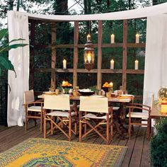Just in time for the 4th of July, get your backyard ready for an outdoor party.