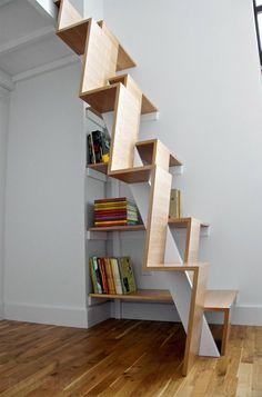 Escalier japonais - outil ludique et fonctionnel pour votre habitation