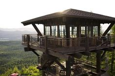 credit: Timber Home Living [http://www.timberhomeliving.com/fire-tower-photos/]