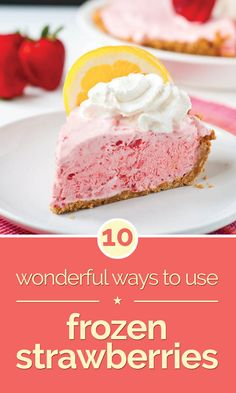10 Wonderful Ways to Use Frozen Strawberries - thegoodstuff