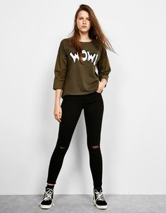 Camisetas de mujer | Bershka España