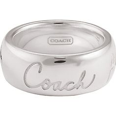 coach rings - Google Search