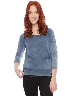 Indigo Sweater Pullover from @Bridget Wilson