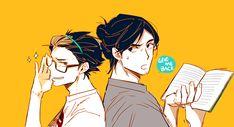 Haikyuu Manga, Haikyuu Fanart, Anime Faces Expressions, Nishinoya Yuu, Volleyball Anime, Haikyuu Ships, Karasuno, Anime Ships, New Shows