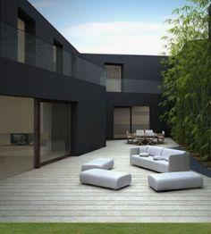 Zening life: 139 - Black Facades - Fachadas a Preto