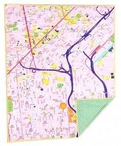 Nikki is making customized map blankets, why are you not buying them all