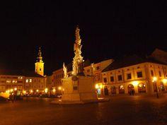Marianske Namesti (main square) - Uherske Hradiste, Czech Republic