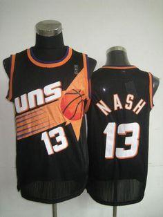 8de7ec52b Phoenix Suns Cheap NBA Black Steve Nash Soul Swingman Jersey