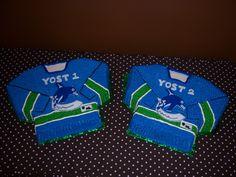 twin baby boys hockey jersies baby shower cakes by slice custom cakes