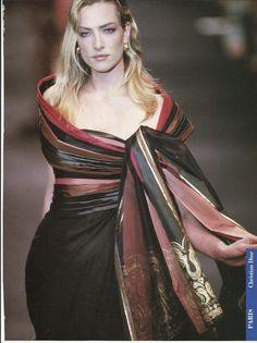 Tatjana Patitz, Christian Dior Haute Couture