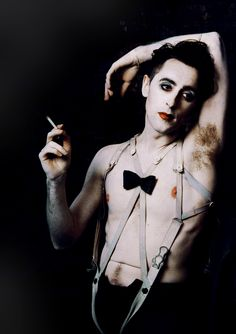 "midcenturymiskatonic: "" Alan Cumming as the Emcee in Sam Mendes' 1993 West End production of Cabaret. """