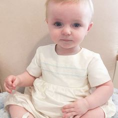 """4e65abcfd75d Adore Baby on Instagram  """"Such a gorgeous little boy in his Venice romper  and booties. What a little cutie ❤"""""""