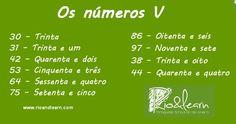 Os números V