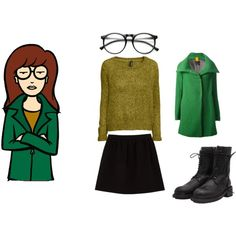 Daria Halloween Clever Funny 1990s 90s Costume DIY  sc 1 st  Pinterest & 22 best Costumes for next year images on Pinterest | My childhood ...