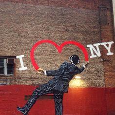 Graffiti near 6th Avenue in NYC. Javan Ng, Your Take