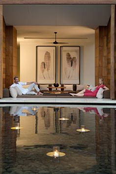 Chill out by our lobby. Anantara Chiang mai Resort & Spa,Thailand