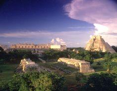 Uxmal near Merida, Yucatan, Mexico