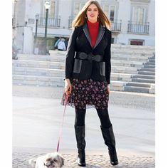 Dual Fabric Jacket | TAILLISSIME | La Redoute