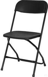 Round Back Black Blue Fabric Banquet Chair 25 Comfort Cushion