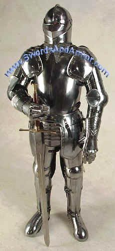 Image detail for -Medieval Swords Suits Of Armor Chain Mail Knight Armour Helmet Armor, Suit Of Armor, Arm Armor, Body Armor, Armadura Medieval, Medieval Weapons, Medieval Knight, Ancient Armor, Modelos 3d
