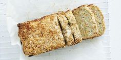 This Zucchini + Coconut Lunchbox Bread is gluten, nut and dairy free, perfect for the kids' lunchboxes. The coconut flour and banana give a natural sweetness, while the zucchini adds a good dose of nu Coconut Recipes, Sugar Free Recipes, Baking Recipes, Real Food Recipes, Bread Recipes, Paleo Bread, Gf Recipes, Lunch Recipes, Flourless Muffins
