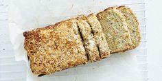 Zucchini Coconut Lunchbox Bread via @iquitsugar