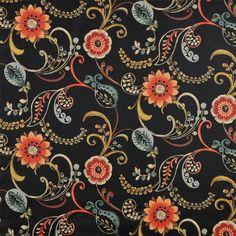 Swavelle / Mill Creek Landsdale Night Fabric