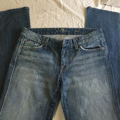 7 for all mankind Kate 7for all mankind Kate strait leg jeans. Size 30 inseam 33. Style # P252F055U cut # 717143 7 for all Mankind Jeans Straight Leg