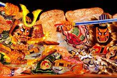 Nebuta  maturi(Japanese festival) in Aomori Japan