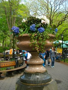 Ultimate container!  Central Park - NYC
