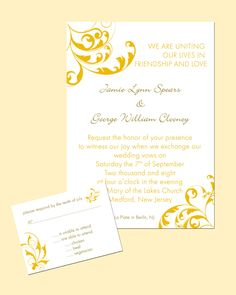 wedding invitations | Wedding Invitations at Uniquely U Designs