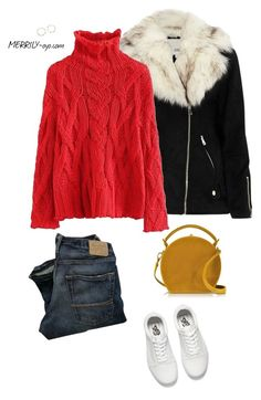 fashion by yumiko-merrily on Polyvore featuring ファッション, River Island, Vans and Bertoni