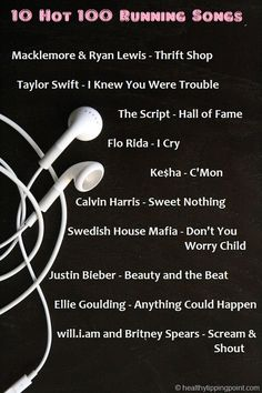 Runner's Playlist for 2016 Add to running playlist. Minus the bieber.Add to running playlist. Minus the bieber.