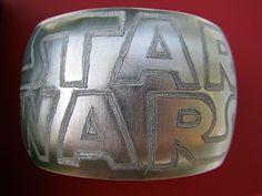 Star Wars Logo Hand Engraved Large Silver Aluminum Cuff bracelet. $55.00, via Etsy.