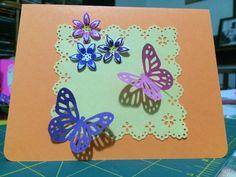 Flores y mariposas 4