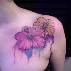 flower-watercolor-tattoo