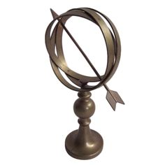 Armillary Brass Sphere | From a unique collection of antique and modern nautical objects at http://www.1stdibs.com/furniture/folk-art/nautical-objects/