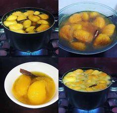 Mangos en miel / sabor de Semana Santa